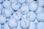 50 Mint Grade Pinnacle Used Golf Balls