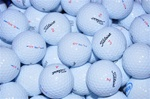 100 Mint Grade Titleist DT Solo Used Golf Balls
