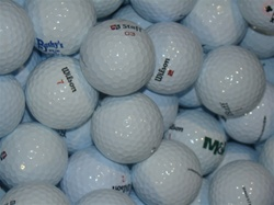 100 Mint Grade Wilson Mix Used Golf Balls