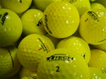 100 Mint Grade Yellow Used Golf Balls