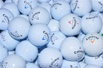 50 Mint Grade Callaway Used Golf Balls.