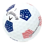 1 Dz. Mint Grade Callaway Chrome Soft Truvis Flag
