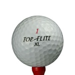 1 Dz. Mint Grade Top-Flite XL Used Golf Balls